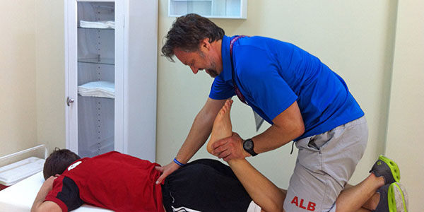 Sports Therapy - Dr. Alban Merepeza